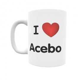 Taza - I ❤ Acebo