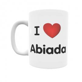 Taza - I ❤ Abiada