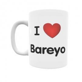 Taza - I ❤ Bareyo