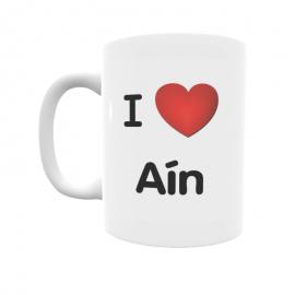 Taza - I ❤ Aín