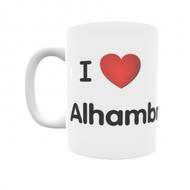 Taza - I ❤ Alhambra