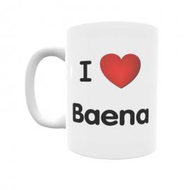 Taza - I ❤ Baena