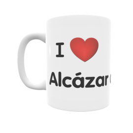 Taza - I ❤ Alcázar del Rey