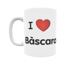 Taza - I ❤ Bàscara