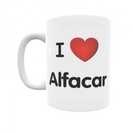 Taza - I ❤ Alfacar