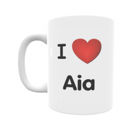 Taza - I ❤ Aia