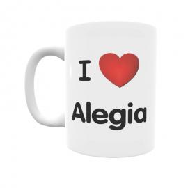 Taza - I ❤ Alegia