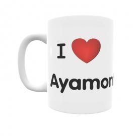 Taza - I ❤ Ayamonte