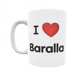 Taza - I ❤ Baralla