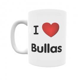 Taza - I ❤ Bullas