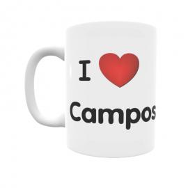 Taza - I ❤ Campos del Río