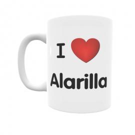 Taza - I ❤ Alarilla