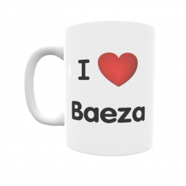 Taza - I ❤ Baeza