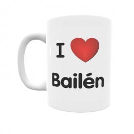 Taza - I ❤ Bailén