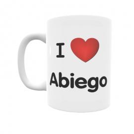 Taza - I ❤ Abiego