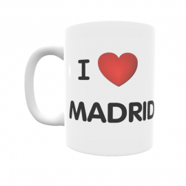 Taza - I ❤ Madrid