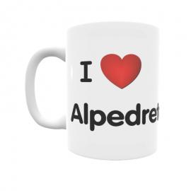 Taza - I ❤ Alpedrete
