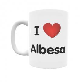 Taza - I ❤ Albesa