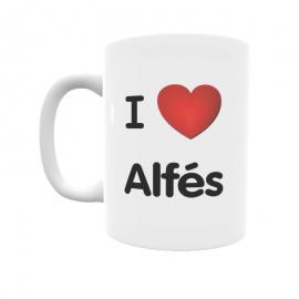 Taza - I ❤ Alfés