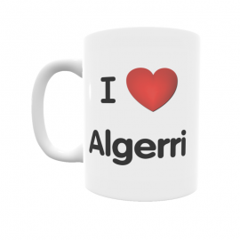 Taza - I ❤ Algerri