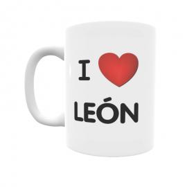 Taza - I ❤ León