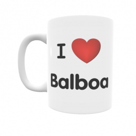 Taza - I ❤ Balboa