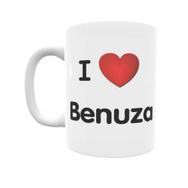 Taza - I ❤ Benuza