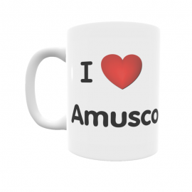 Taza - I ❤ Amusco