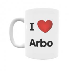 Taza - I ❤ Arbo