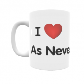 Taza - I ❤ As Neves
