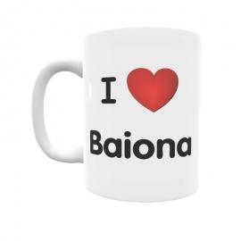 Taza - I ❤ Baiona