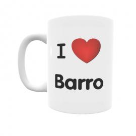 Taza - I ❤ Barro