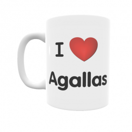 Taza - I ❤ Agallas