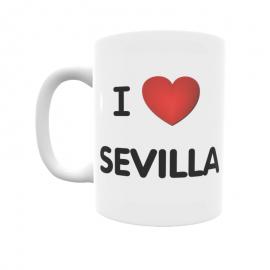 Taza - I ❤ Sevilla