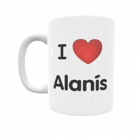 Taza - I ❤ Alanís