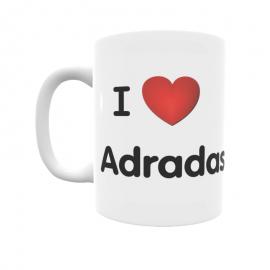 Taza - I ❤ Adradas