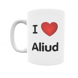 Taza - I ❤ Aliud