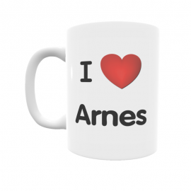 Taza - I ❤ Arnes