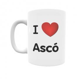 Taza - I ❤ Ascó
