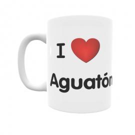 Taza - I ❤ Aguatón