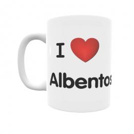 Taza - I ❤ Albentosa
