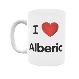 Taza - I ❤ Alberic