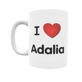 Taza - I ❤ Adalia