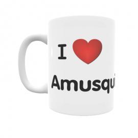 Taza - I ❤ Amusquillo