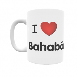 Taza - I ❤ Bahabón