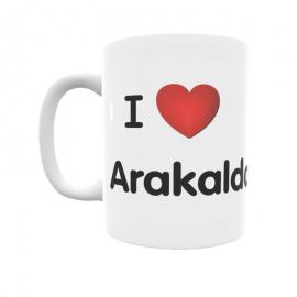 Taza - I ❤ Arakaldo