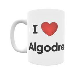 Taza - I ❤ Algodre