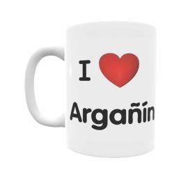 Taza - I ❤ Argañín