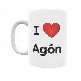 Taza - I ❤ Agón
