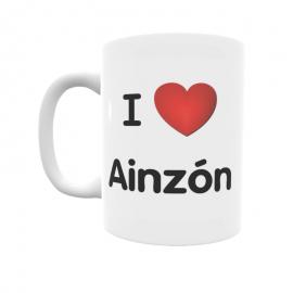 Taza - I ❤ Ainzón